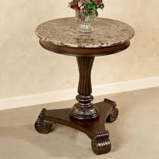coffee tables astonishing round nightstand with cross base side