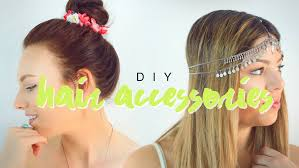 hair accessories for diy hair accessories for the sorry