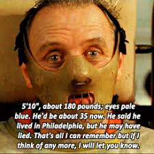 Silence Of The Lambs Meme - gifs anthony hopkins silence of the lambs silence hanniballecters