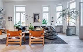 Swedish Home Interiors Black White And Trim All Over