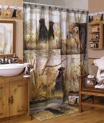34 best cave bathroom images traditional image detail for lodge and cabin home dogs