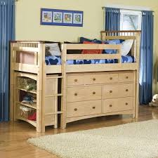 Bunk Beds With Dresser Bed And Dresser Combo Wood Bunk Beds With Storage And Desk Best