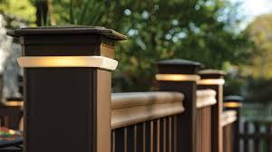 radiancerail composite deck railing deck railing timbertech