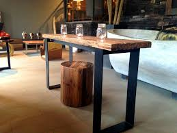 Narrow Bar Table Table Likable Table Behind Sofa Idea Console Reclining Tables And
