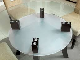 Round Dining Table With Glass Top Buy Furniture Of America Cm3127t Grandam I Round Dining Table With
