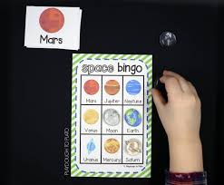 outer space bingo playdough to plato