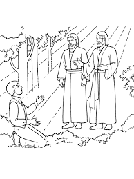 lds coloring pages i can be a good exle coloring pages lds primary best of the first vision joseph sees god