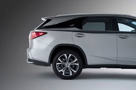 matte black lexus rx 350 lexus rx drivers now have the power of three rows toyota