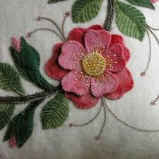 25 unique wool applique ideas on wool applique