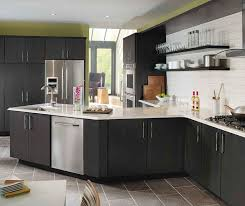 gray cabinet kitchens dark gray kitchen cabinets kemper cabinetry