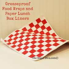paper wrap paper food wraps check paper basket liners checkerboard food