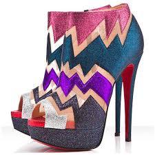 louboutin ziggy peep toe booties red bottom shoes coupon cheap