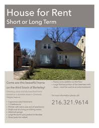 beautiful cleveland heights house available for short or long term