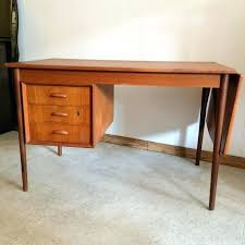 Drop Leaf Computer Desk Drop Leaf Desk Modern Walnut Drop Leaf Writing Desk