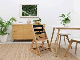 mocka soho wooden highchair highchairs