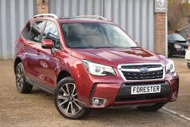 subaru forester red 2017 used subaru forester i xt monza sports tuning ltd