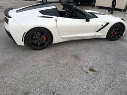 pearl white corvette 2015 chevrolet corvette c7 stingray pearl white matte dallas