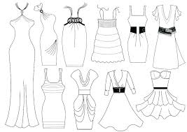 design pattern of dress printable design coloring pages dress design colouring pages google