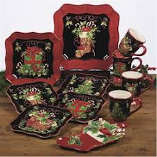 discontinued certified intl vintage christmas dinnerware by susan