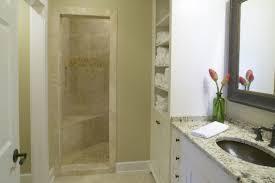 Recessed Shelves In Bathroom Bathroom Restful Small Space Bathroom With Recessed Shelves Also