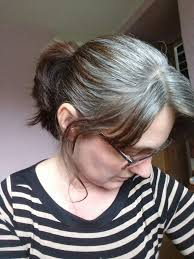 hilites for grey or white hair 108 best white highlights images on pinterest grey hair going