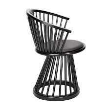 Birch Dining Chairs Tom Dixon Fan Dining Chair