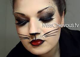Cat Halloween Costumes Adults Face Painting Cat 14 Cat Halloween Ideas