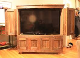 Flat Screen Tv Armoire Rustic Tv Armoire By Campd Lumberjocks Com Woodworking Community