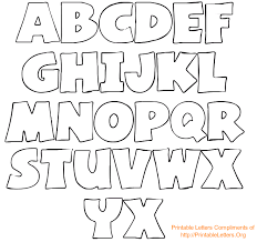 alphabet letters to trace and cut printableletters org alphabet