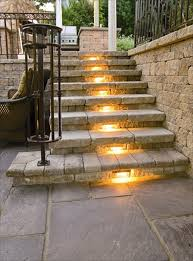 Stair Lights Outdoor 30 Astonishing Step Lighting Ideas For Outdoor Space Lights