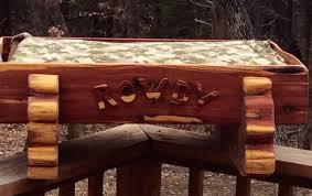 Cedar Dog Bed Handmade Cedar Dog Bed By Jordan Creek Woodworks Custommade Com