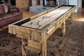 Antique Shuffleboard Table For Sale Hand Crafted Shuffleboard Table By Drawknife Custom Billiard