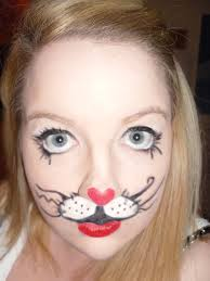 cute bunny rabbit costume makeup halloween make up and nails