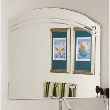 Frameless Bathroom Mirror Large Angel Large Frameless Wall Mirror Free Shipping Today
