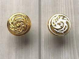 shabby chic knobs dresser knob white gold kitchen cabinet door