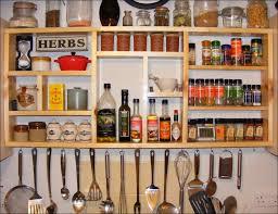 kitchen wonderful rack spice spice jar stand in wall spice