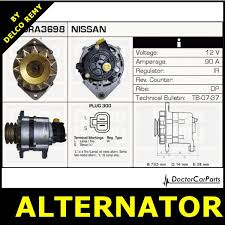 alternator nissan serena vanette cargo dra3698 ebay