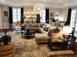hgtv living room designs game room features granite topped mahogany bar credenza and