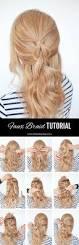the no braid braid 5 pull through braid tutorials hair romance