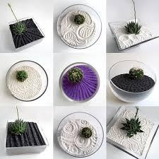 zen sand garden for desk miniature zen garden for relaxing small garden ideas