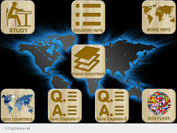 World Flags Quiz World Countries Capitals Flags Map Puzzles Quiz Android Apps On
