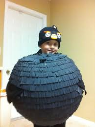 Bomb Halloween Costume Easy Angry Bird Costume Candy Basket 6 Steps Pictures