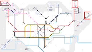 Underground Map Tube Map Shows Affordable Rents In London Business Insider