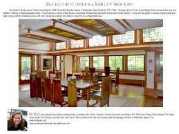 Frank Lloyd Wright Home Interiors Growing Up In A Frank Lloyd Wright House Kim Bixler