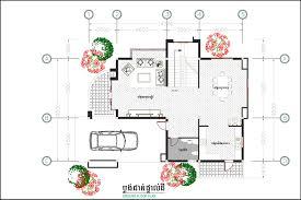 architect plan modern home plan 9m5 x 14m2 free pdf autocad sketchup