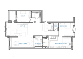 Loft Apartment Floor Plans Gallery Of 32nd Apartment 2b Group 20