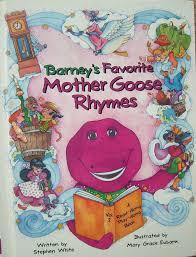 barney u0027s favorite mother goose rhymes vol 2 barney wiki