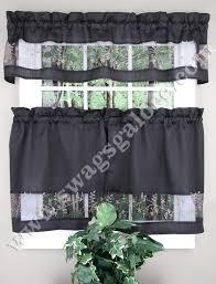 Kitchen Tier Curtains Black Turkish Cafe Curtain Designer Kitchen Tier Curtains Lofty