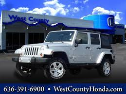 used 4 door jeep rubicon used jeep wrangler 20 000 in missouri for sale used cars