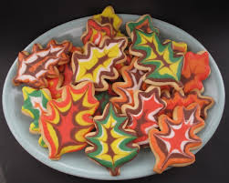 decorated thanksgiving sugar cookies recipe thanksgiving